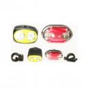 Lanterna LED 2W Set cu Stop Semnalizare Bicicleta TD516B