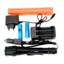 Lanterna LED 3W cu Acumulator, Zoom si Con Semnalizare 12V 220V BL8668