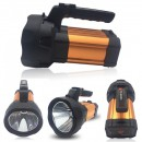 Lanterna LED Profesionala 10W 220V cu Acumulator si slot USB TD8000C