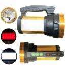 Lanterna Profesionala LED 10W, Panouri LED, USB si Acumulator 4V TD6688