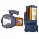 Lanterna Profesionala LED 15W+2x COB LED, slot USB, 220V DAT AT398