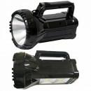 Lanterna Reincarcabila LED 3W si 2x 3W COB LED cu Slot USB 7045A