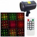 Laser Gradina tip Star Shower, Rosu Verde Telecomanda, Timer WL502C