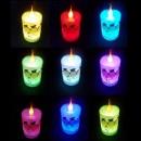 Lumanare Decorativa Craciun cu LED Multicolor 3 Ingerasi