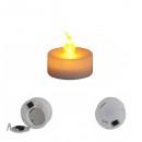 Lumanare Pastila LED Electrica Lumina Alba Calda care Palpaie