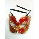 Masca Carnaval tip Flacari de Foc