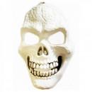 Masca de Halloween si Carnaval Craniu Alb