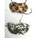 Masca Party si Bal Mascat Imprimeu Leopard