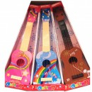 Mini Chitara Acustica din Lemn pentru Copii, cu 4 Corzi
