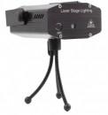 Mini Laser Stroboscopic Rosu Verde cu MP3 Player USB Slot Card 403PM3