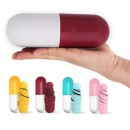Mini Umbrela Pill 18cm cu Protectie UV si Prindere Carucior Copii H53cm