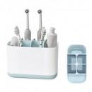 Organizator Baie Pasta si Periute de Dinti Toothbrush Caddy