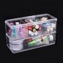 Organizator cosmetice din acril 4 Compartimente Storage Box