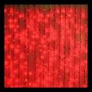 Perdea Luminoasa Craciun Exterior 3x3m 352LED Rosu FN IP44 P CL