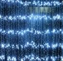 Perdea Luminoasa Ploaie 8x1m 384LED Alb Rece IP44 FI P CL