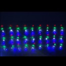 Perdea Luminoasa Ploaie 8x1m 384LED Multicolor IP44 FI P CL