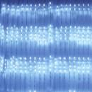 Perdea Luminoasa Ploaie Craciun 250LED Alb Rece 5x1m Fir Verde NP 1858