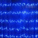 Perdea Luminoasa Ploaie Prelungibila 6x3m 960LED Albastre Exterior FN CL