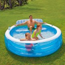 Piscina Gonflabila Swim Center 224x216x76cm Intex 57190NP