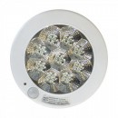 Plafoniera 36 LED 5W Alb Rece cu Senzor de Miscare si Lumina 22cm 220V