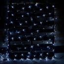 Plasa Luminoasa Craciun 2x2m 160LED Alb Rece Fir Negru P CL