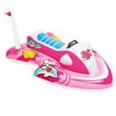 Pluta gonflabila Copii Jetski Hello Kitty Intex 57522NP