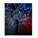 Pomisor de Craciun pentru Exterior cu 400 LEDuri Albe 150cm TO