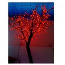 Pomisor de Craciun pentru Exterior cu 400 LEDuri Rosii 150cm TO