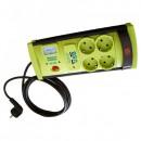 Prelungitor cu Protectie 4 Prize si USB, Cablu 5m, 3x1mm Vipex