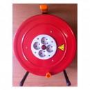 Prelungitor Tambur Metalic cu Rola Cablu Electric 40m 4 Posturi