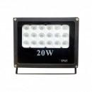 Proiector LED 18 LEDuri 20W Alb Rece 220V
