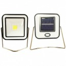 Proiector COB LED 10W Alb Rece Incarcare Panou Solar si USB RYT913