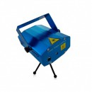 Proiector Laser 6 Proiectii Stroboscop Music Rosu Verde XX612