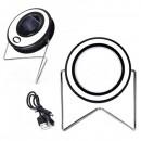 Proiector LED 10W Alb Rece Incarcare Panou Solar si USB RYT91230