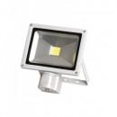 Proiector LED 20W cu Senzor Miscare Alb Rece 6500K 220V UB60035