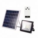 Proiector LED 30W cu Panou Solar si Telecomanda Alb Rece