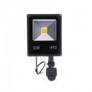 Proiector Slim LED SMD 30W cu Senzor Miscare Alb Rece 220V PS22030