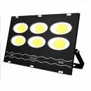 Proiector Ultra Slim 6x50W COB LED Rotund Mare 300W Alb Rece 220V IP66