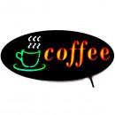 Reclama Luminoasa Coffee 50x25cm