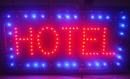 Reclama Luminoasa cu LED 55x33cm Hotel