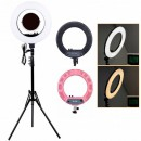 Ring Light Lampa Circulara LED Rece Cald Oglinda Sup. Telefon CM1708M