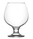 Set 24 Pahare Sticla  cu picior 390ml Coniac Misket 568