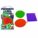Set 3 bureti din Silicon Better Sponge