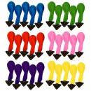 Set 5 Baloane Luminoase cu LED  pentru Petreceri 1 Culoare