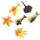 Set 6 Figurine Decorative Colorate Bio Gel