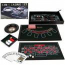Set Casino 4 in 1 cu Poker, Black Jack, Craps si Ruleta