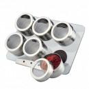 Set magnetic pentru condimente 7 piese Peterhof PH12796