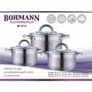 Set oale din inox cu capac 6 piese Bohmann BH0715
