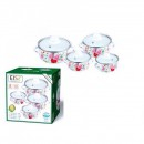 Set oale emailate cu capac 8 piese Reisz RZ441A