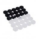 Set Piese din Plastic Pentru Joc de Table 3.3cm
